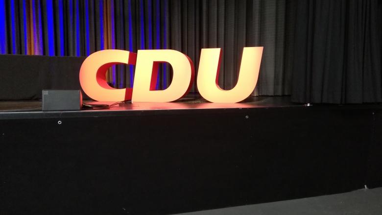 CDU Logo Schrift