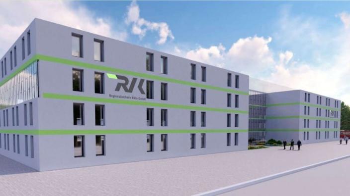 Visualisierung RVK Weiterbildungszentrum Mechernich